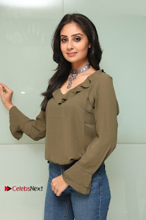 Actress Bhanu Sri Mehra Latest Pos in Jeans at Simba Audio Launch  0012.jpg
