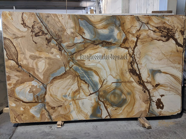 Stone wood Quartzite for countertops