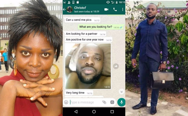 HIV positive guy, Kristoff Adjei banged and dumped Joyce Dzidzor Mensah
