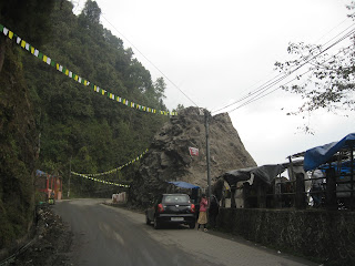 Tenzing rock in darjeeling
