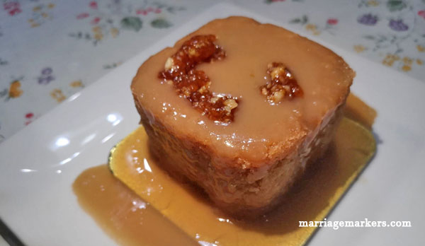 Cafe Elgon - Bacolod restaurants - Rum Cake - desserts - top desserts in bacolod
