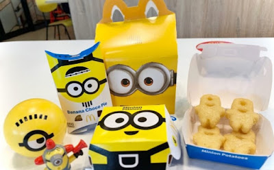 """Happy Meal Minions"", Menu Baru McDonald's Indonesia"