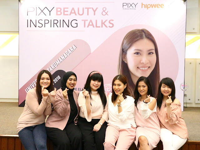 PIXY Beauty Inspiring & Talks #HIPWEExPixy