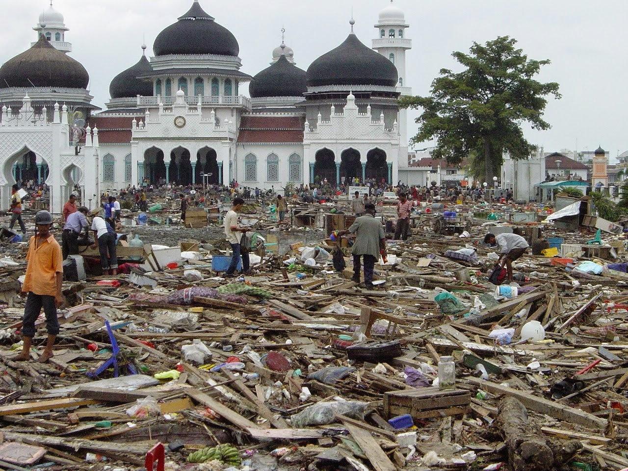 Ini Bencana di Indonesia yang Menggugah Dunia