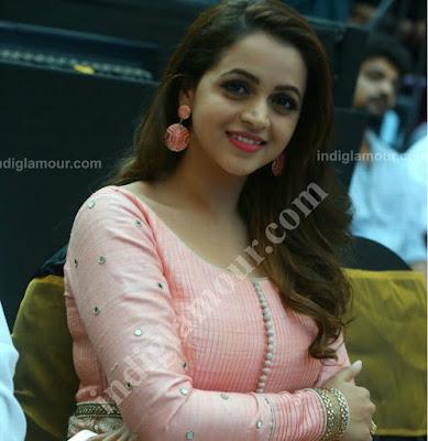 actress bhavana latest photo shoot rose salwar