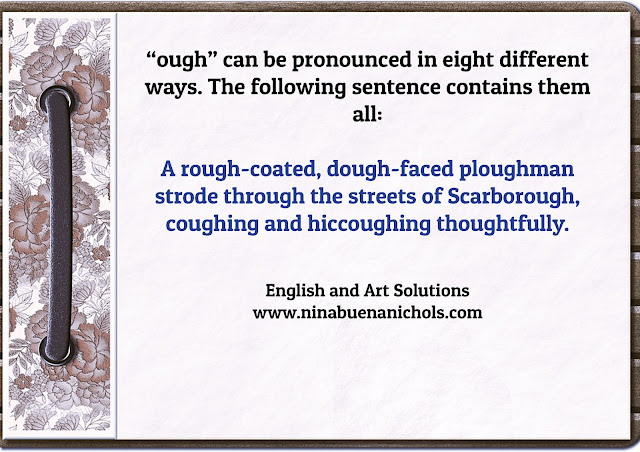 how to pronounce ough
