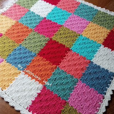 The Patchwork Heart C2c Jayg Corner To Corner Join As You Go Tutorial
