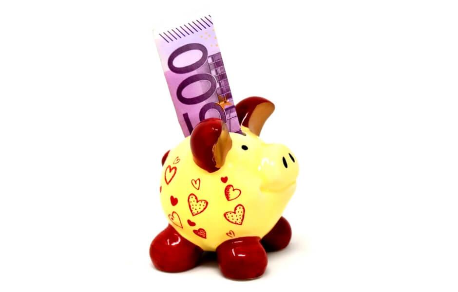 500 euro spaarvarken