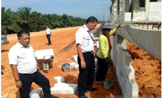 60 Persen Pembangunan Jalur KA Rantau Prapat - Kota Pinang selesai