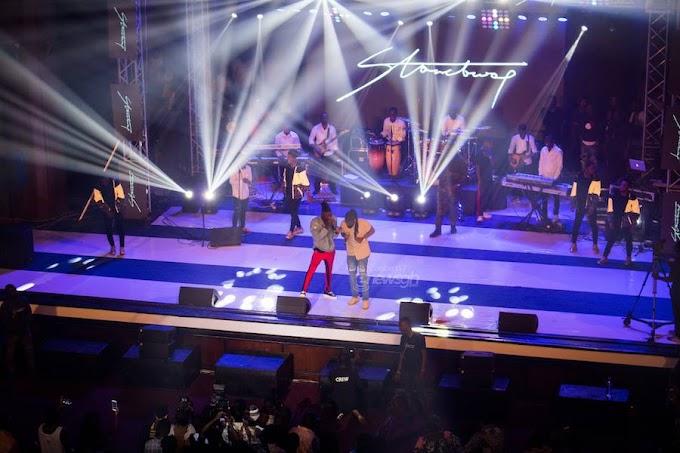 Stonebwoy named Africa Entertainment Legends Award Winner during 2017 BHIM Concert performance
