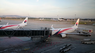 Malaysia Airlines KLIA International Airport