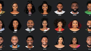 Big Brother Naija Housemates 2019