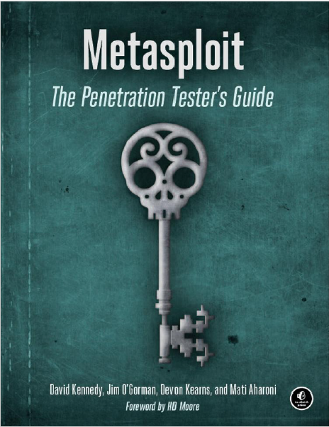 Metasploit The Penetration Tester S Guide Pdf Free Secret Hacker Official