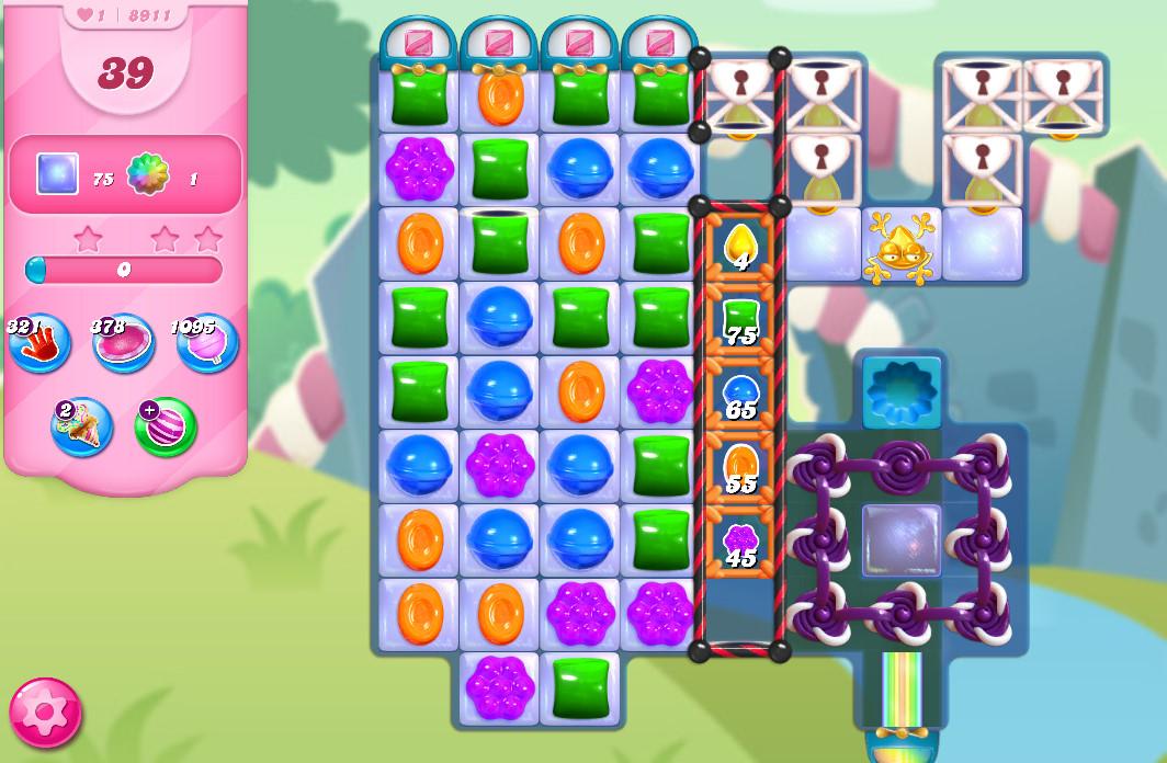 Candy Crush Saga level 89161