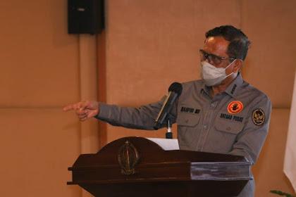 Wanti-wanti Mahfud MD ke Polisi Usai Geger Pembakaran Mimbar Masjid