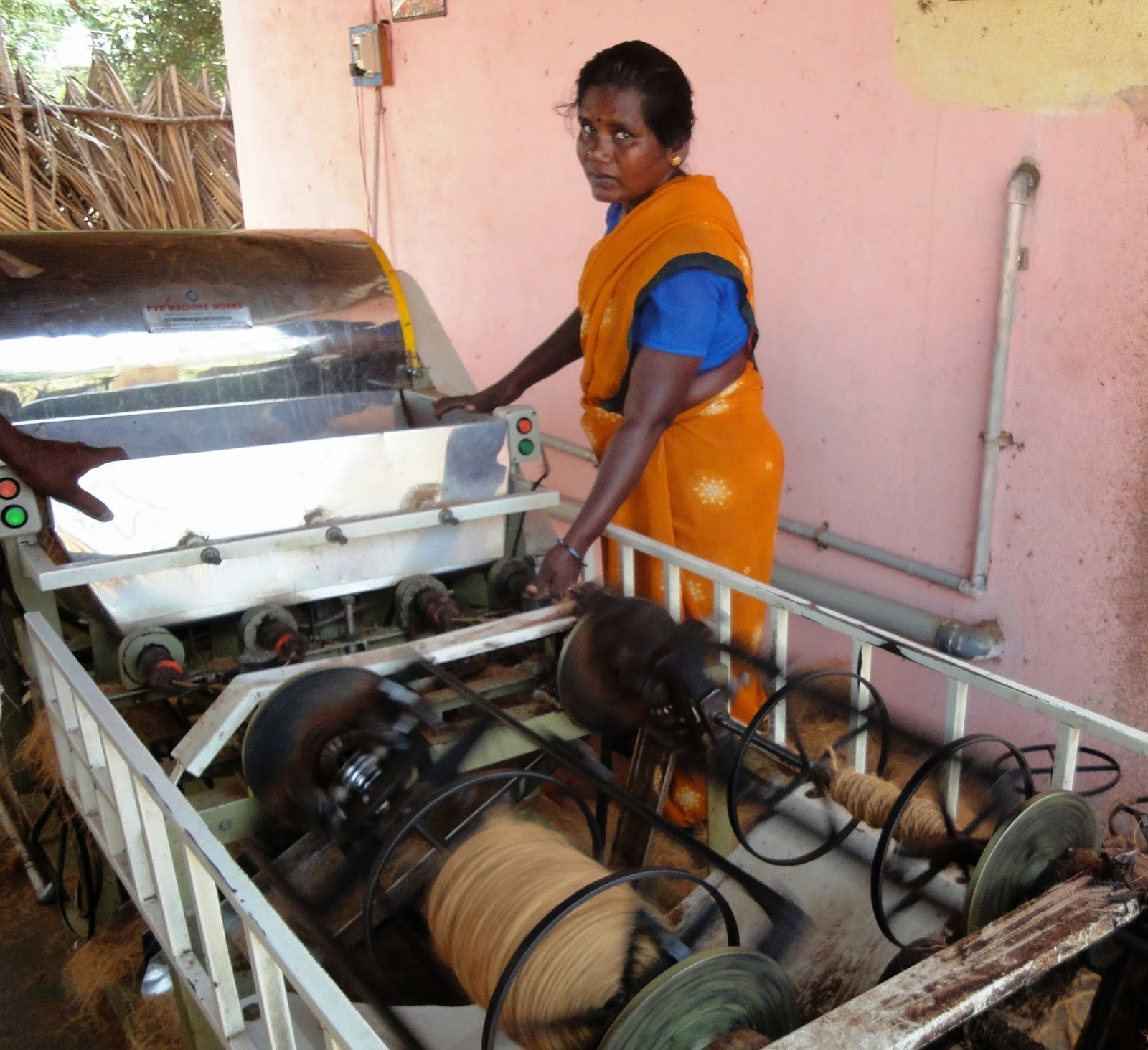 SEVAI/ELLE/OFI promoted Women Self Help Groups involved in rope making are self-employed with healthier returns.