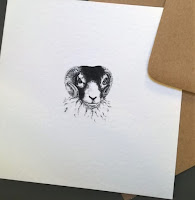 Swaledale Tup by Rachel M Scott