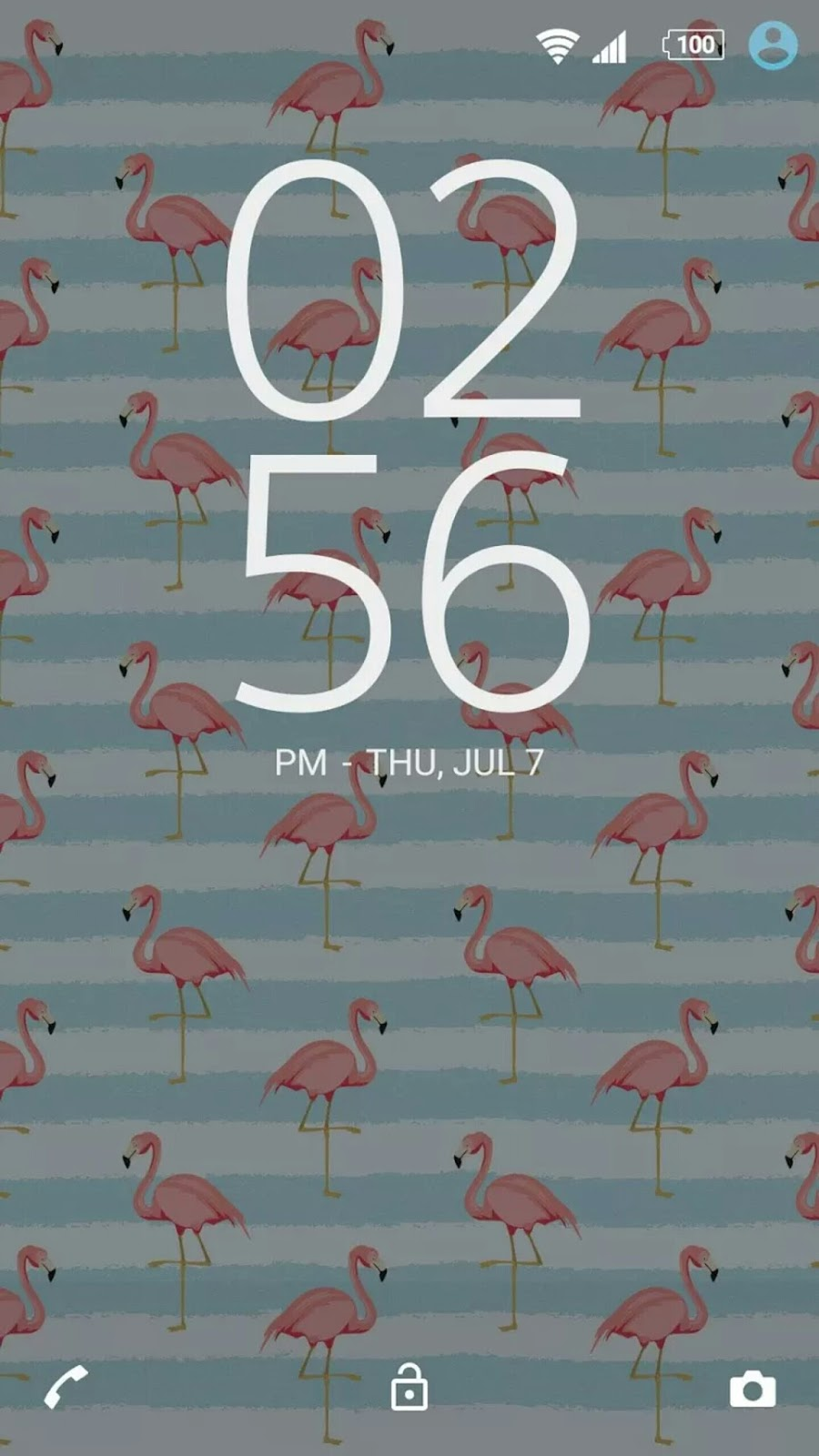 Google play xperia themes - Sony Mobile Has Released A New Premium Xperia Theme Called Florida The Theme Is Adorned With Flamingos Swimming Pools And Even A Florida Orange For Its