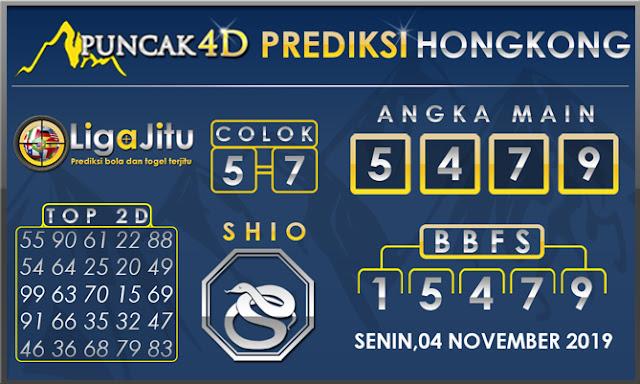 PREDIKSI TOGEL HONGKONG PUNCAK4D 04 NOVEMBER 2019