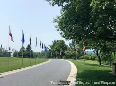 Indiantown Gap National Cemetery in Pennsylvania