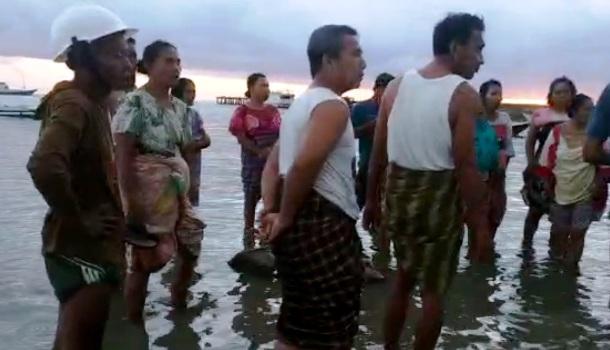 Geger Di Pagi Buta, Warga Desa Bontobulaeng Temukan Jenazah Terapung Dipantai Ujung