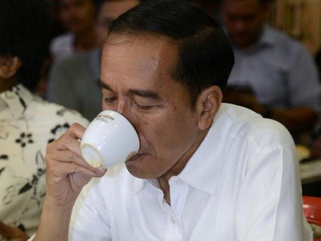 Minuman Kesukaan Jokowi
