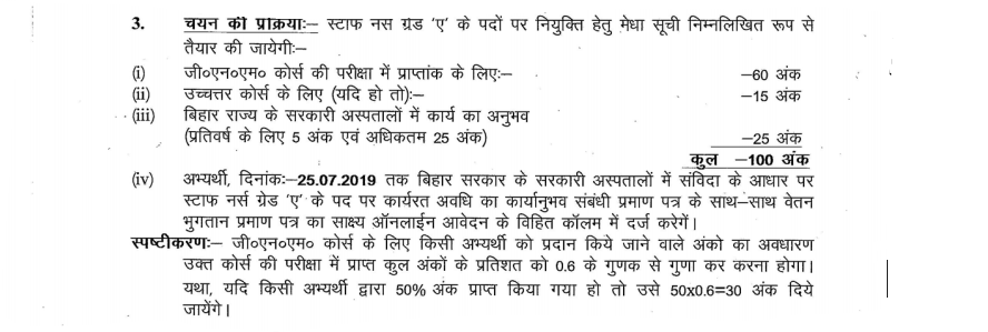 Selection Process of BTSC Recruitment 2019.