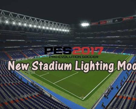 PES 2017 Stadium Lighting Mod