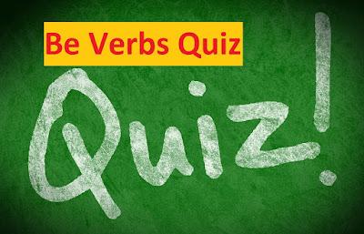 be-verbs-quiz