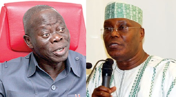 Atiku Means Failure, He Was Destined Never To Be President  Oshiomhole