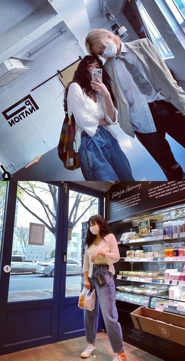 Hyuna ve E'Dawn çifti modaya uygun tarzlarını gösterdi