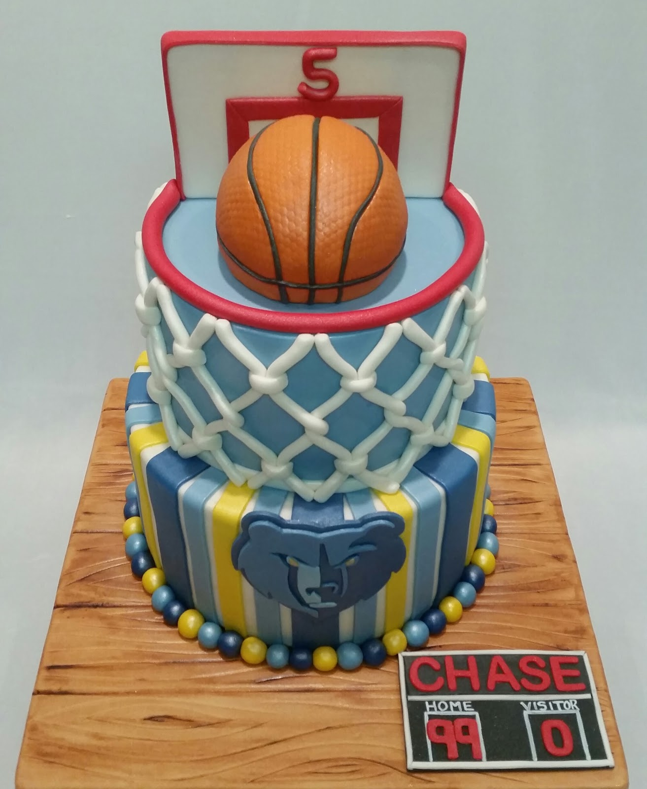 Memphis Grizzlies Cakes