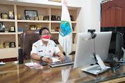 Sekprov Pimpin Rapat Sosialisasi Rancangan Teknokratik RPJMD dan Visi Misi Serta Program Prioritas 2021 - 2026