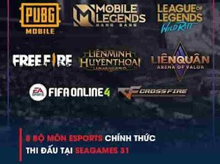 Mobile Legends dan Free Fire Masuk di SEA Games 2021