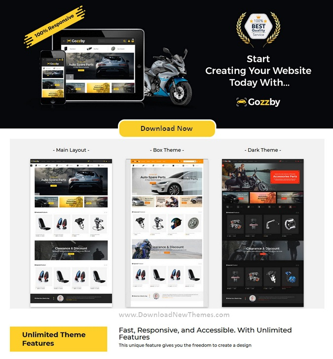 Automotive Business Multipurpose Website Theme