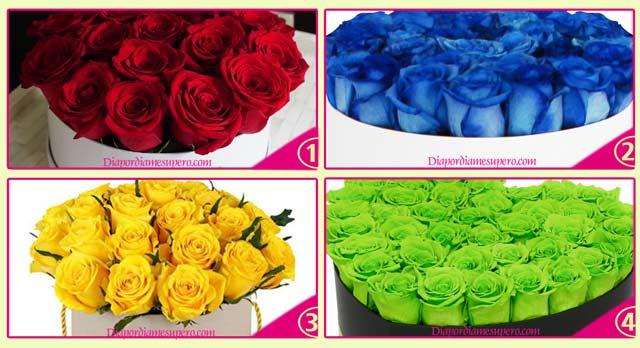 Test: Elige un ramo de flores y descubre tu color espiritual dominante
