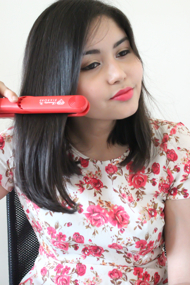 Hair Straightening for fine, straight hair