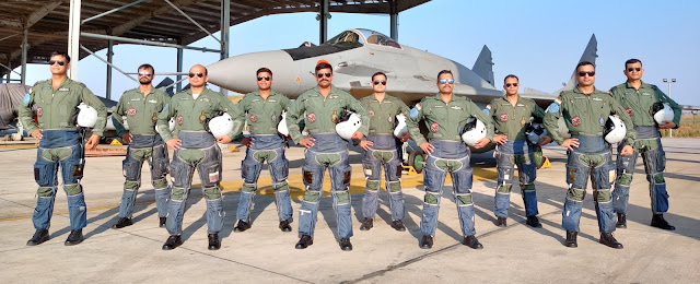 Image Attribute: MiG-29UPG Crew / Source: Indian Air Force - Media Co-ordination Centre Twitter Handle