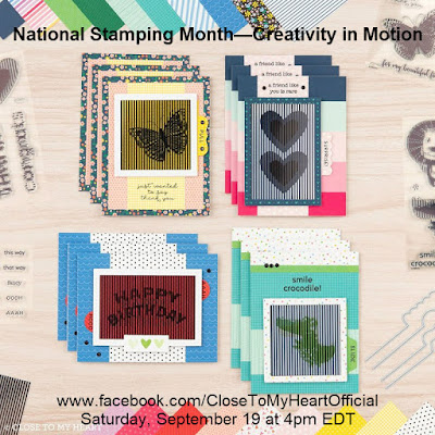 National Stamping Day—Creativity in Motion Facebook Live