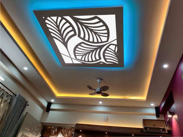 interior design, lighting concept, false ceiling