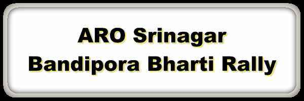[J&K] ARO Srinagar Army Bharti Rally 2020 @Sonarwani, Bandipora Notification Out – Apply Now