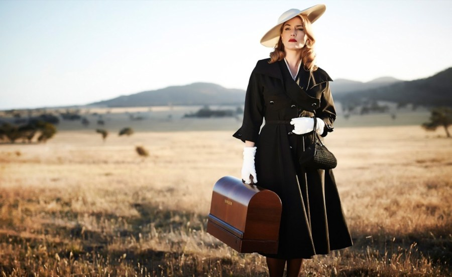 Kate Winslet with an enviable bentwood case.