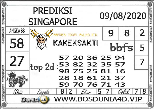 Prediksi Togel SINGAPORE DUNIA4D 09 AGUSTUS 2020