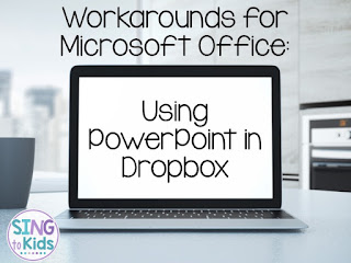 Workarounds for Microsoft Office: Using PowerPoint in Dropbox - play fun interactive PowerPoint games using Office Online!