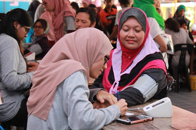 PURE HEART ANJURAN MUSLIM VOLUNTEER MALAYSIA BANTU MEREKA YANG MEMERLUKAN