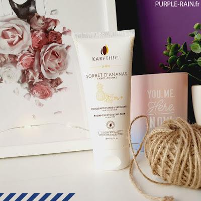 Mousse Nettoyante Karethic : Belle au Naturel •• Blog PurpleRain