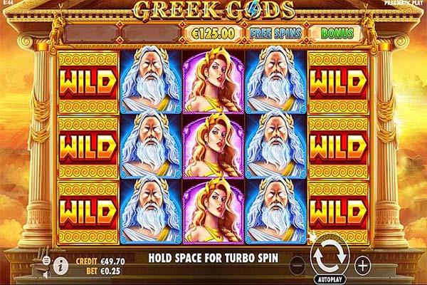 Main Gratis Slot Indonesia - Greek Gods (Pragmatic Play)