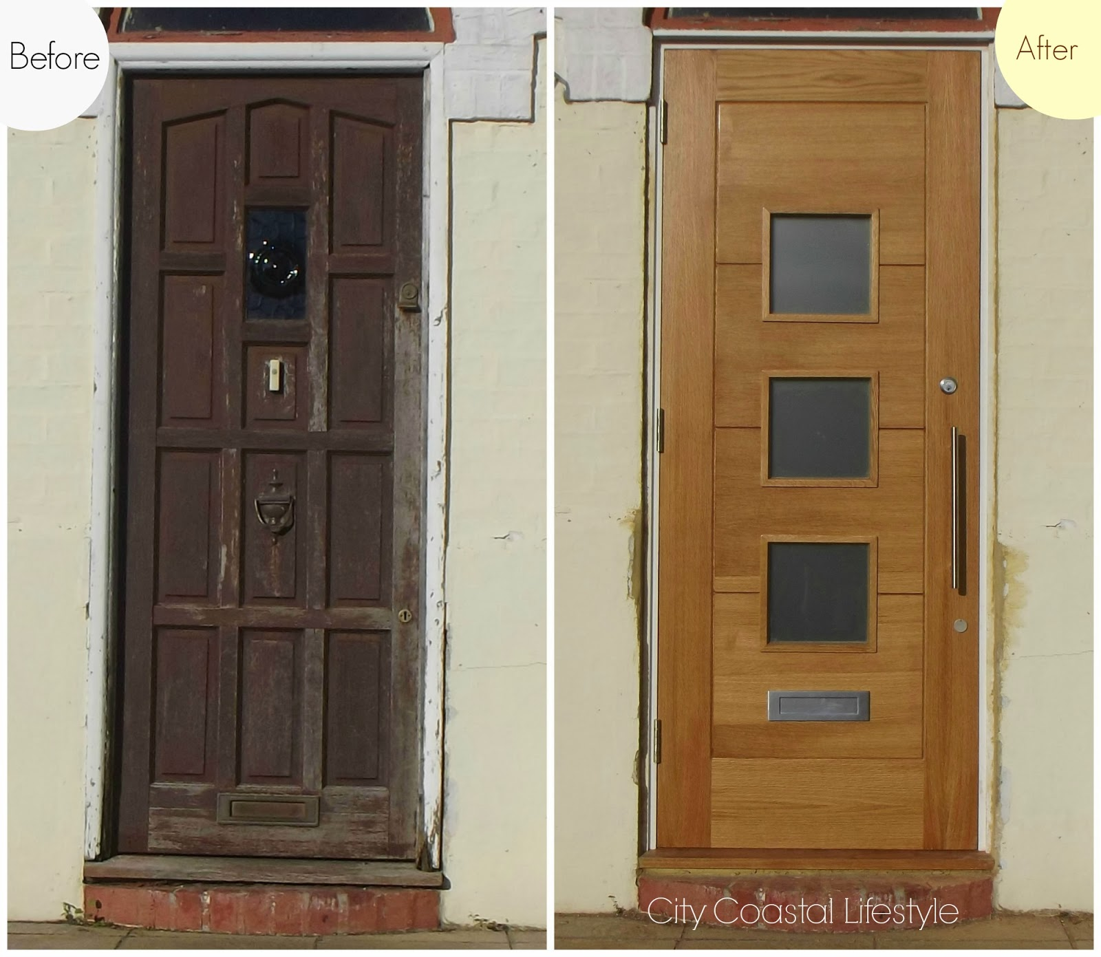 Our Door Has Had Several Coats Of Yacht Varnish Lied Too To Ward Off The Sea Salt Laden Air