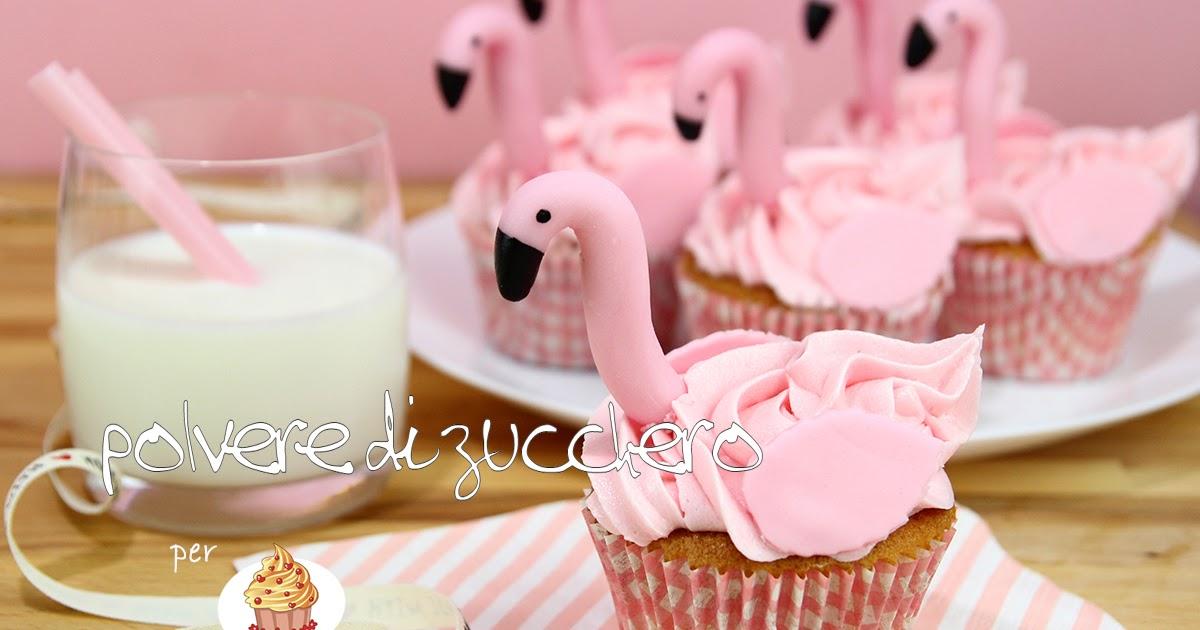 Tutorial e ricetta flamingo cupcakes come realizzare i for Ricette on line