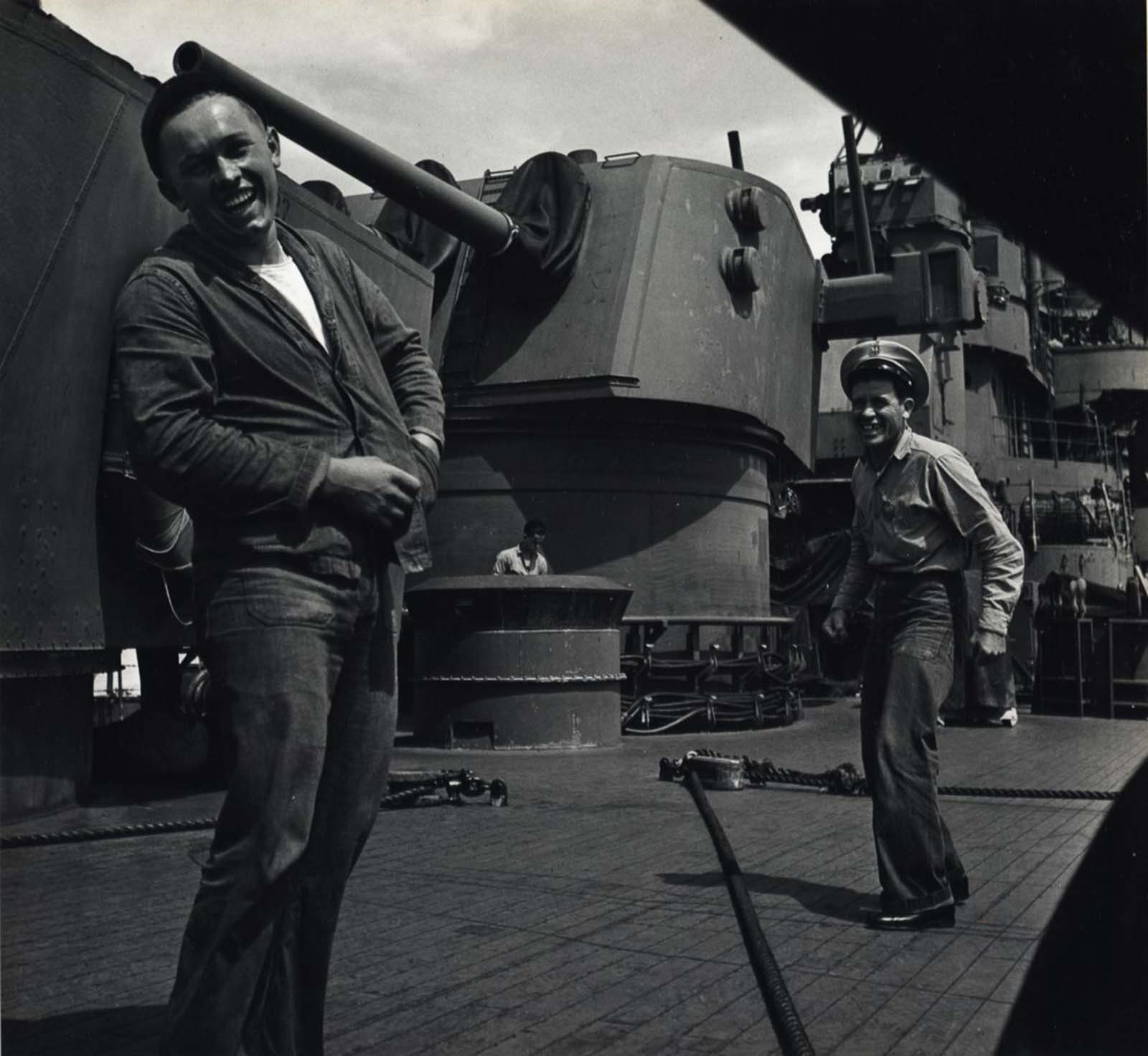 Raid Against Marcus Island, c. 1943.